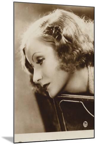 Greta Garbo--Mounted Photographic Print
