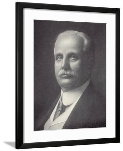 Frank Winfield Woolworth--Framed Art Print