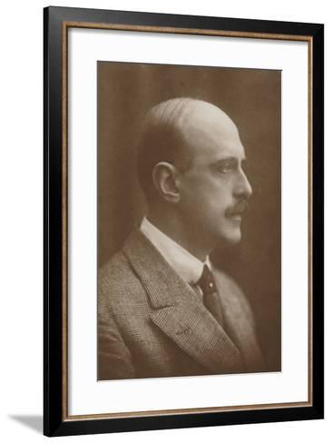 Portrait of Max Schillings--Framed Art Print