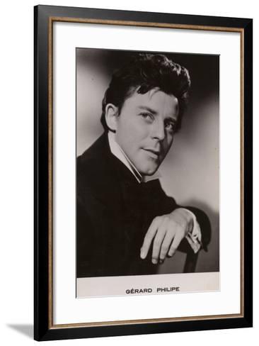 Gerard Philipe--Framed Art Print