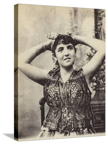 Jewish Woman--Stretched Canvas Print