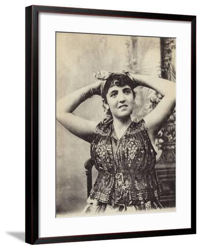 Jewish Woman--Framed Art Print