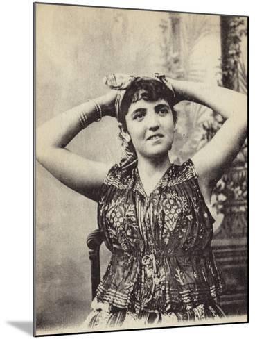 Jewish Woman--Mounted Photographic Print