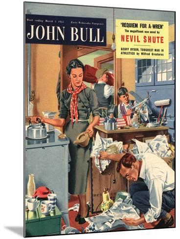 Front Cover of 'John Bull', March 1955--Mounted Giclee Print