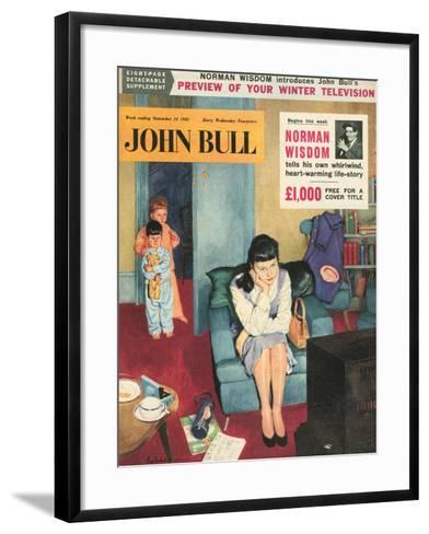 Front Cover of 'John Bull', November 1956--Framed Art Print