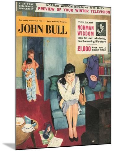 Front Cover of 'John Bull', November 1956--Mounted Giclee Print