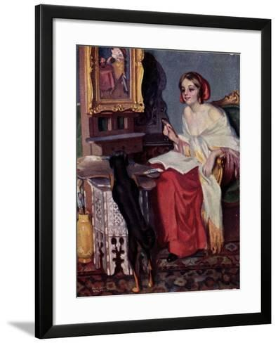Künstler Pap, E., Kis Kotnyeles, Ein Nascher, Hund--Framed Art Print