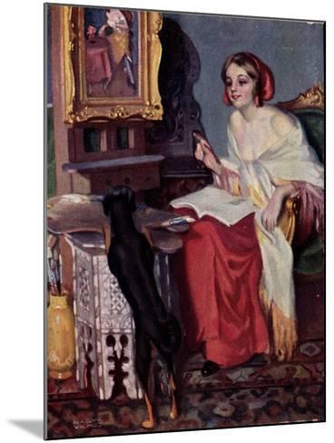 Künstler Pap, E., Kis Kotnyeles, Ein Nascher, Hund--Mounted Giclee Print