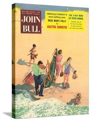 Front Cover of 'John Bull', September 1956--Stretched Canvas Print