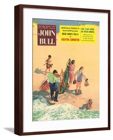 Front Cover of 'John Bull', September 1956--Framed Art Print
