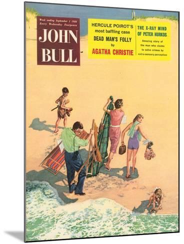 Front Cover of 'John Bull', September 1956--Mounted Giclee Print
