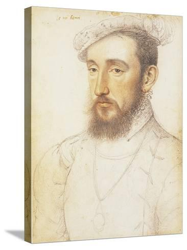 UK, London, Portrait of Henry II of the House of Valois--Stretched Canvas Print