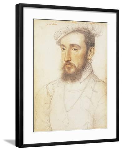 UK, London, Portrait of Henry II of the House of Valois--Framed Art Print