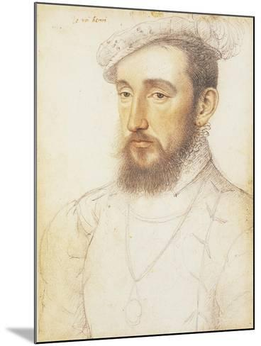 UK, London, Portrait of Henry II of the House of Valois--Mounted Giclee Print