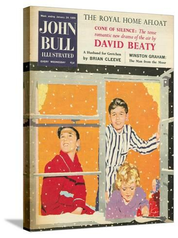 Front Cover of 'John Bull', February 1959--Stretched Canvas Print