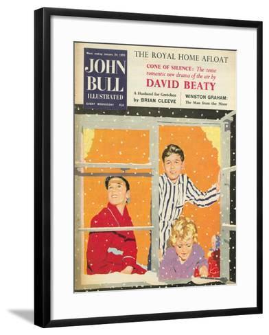 Front Cover of 'John Bull', February 1959--Framed Art Print