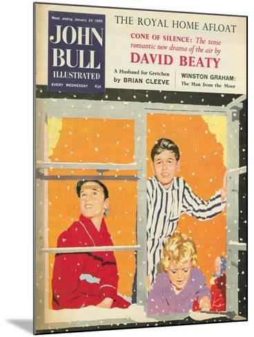 Front Cover of 'John Bull', February 1959--Mounted Giclee Print