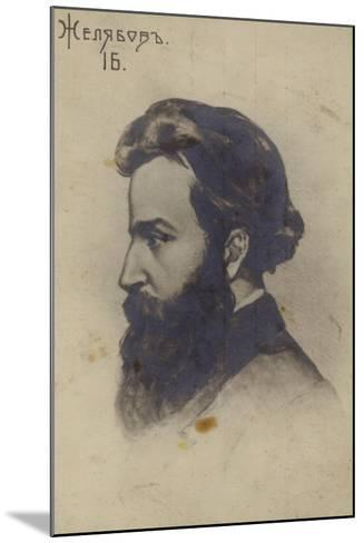 Andrei Zhelyabov, Russian Revolutionary--Mounted Giclee Print