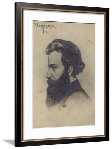 Andrei Zhelyabov, Russian Revolutionary--Framed Art Print