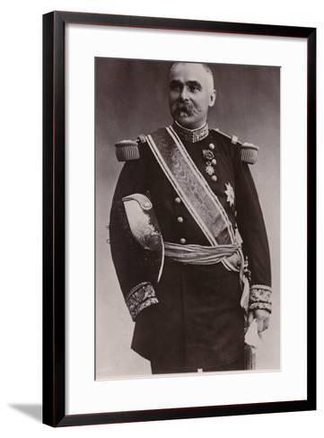 General Pau--Framed Art Print