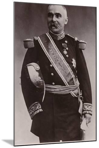 General Pau--Mounted Photographic Print