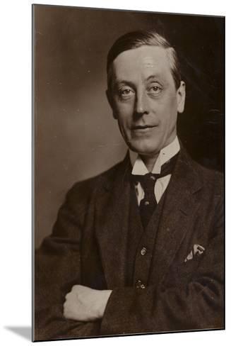 Arthur Greenwood--Mounted Photographic Print