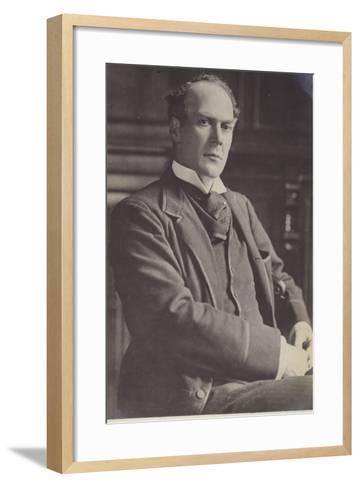 Alfred Lyttelton--Framed Art Print