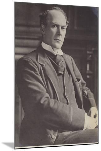 Alfred Lyttelton--Mounted Photographic Print