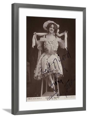 Daisy Jerome, English Stage Actress--Framed Art Print