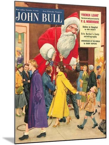 Front Cover of 'John Bull', November 1955--Mounted Giclee Print