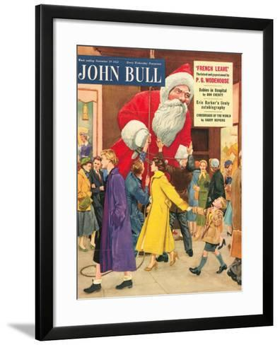 Front Cover of 'John Bull', November 1955--Framed Art Print