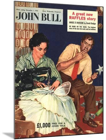 Front Cover of 'John Bull', December 1956--Mounted Giclee Print