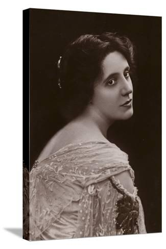 Mrs Patrick Campbell, English Stage Actress--Stretched Canvas Print