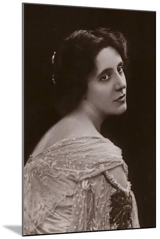 Mrs Patrick Campbell, English Stage Actress--Mounted Photographic Print