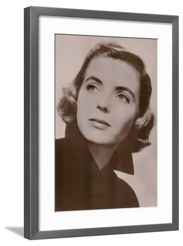 Dorothy Mcguire, American Film Actress--Framed Art Print