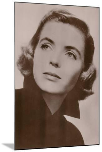 Dorothy Mcguire, American Film Actress--Mounted Photographic Print