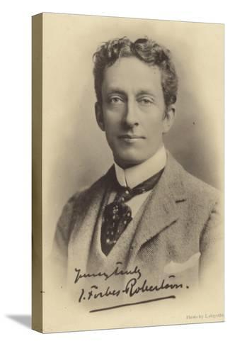 Sir Johnston Forbes-Robertson, English Stage Actor and Theatre Manager--Stretched Canvas Print