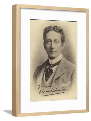 Sir Johnston Forbes-Robertson, English Stage Actor and Theatre Manager--Framed Art Print