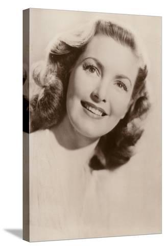 Patricia Roc, British Film Actress--Stretched Canvas Print