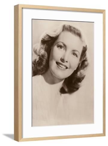 Patricia Roc, British Film Actress--Framed Art Print