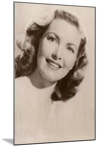 Patricia Roc, British Film Actress--Mounted Photographic Print