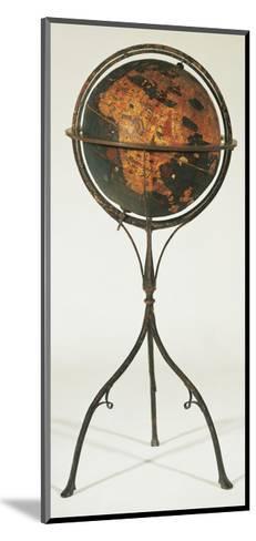 Earth Globe by Martin Behaim, 1492--Mounted Giclee Print