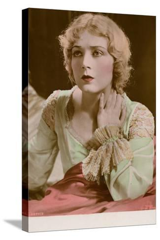 Vilma Banky, Hungarian Actress and Film Star--Stretched Canvas Print