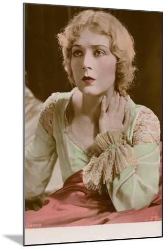 Vilma Banky, Hungarian Actress and Film Star--Mounted Photographic Print