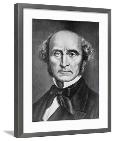 Portrait John Stuart Mill--Framed Art Print