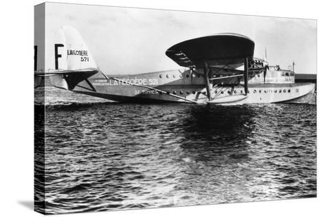 View of Seaplane Lieutenant De Vaisseau Paris--Stretched Canvas Print