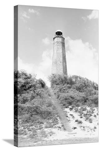 Old Cape Henry Lighthouse-Philip Gendreau-Stretched Canvas Print