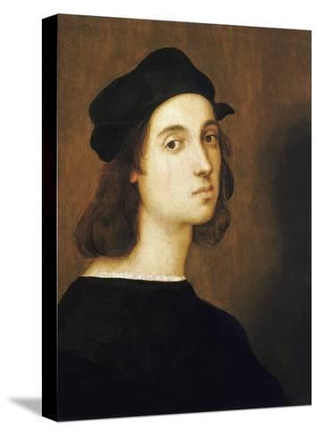 Self-Portrait by Raphael--Stretched Canvas Print