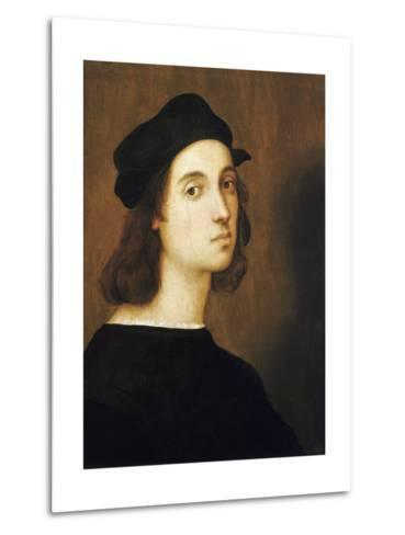 Self-Portrait by Raphael--Metal Print