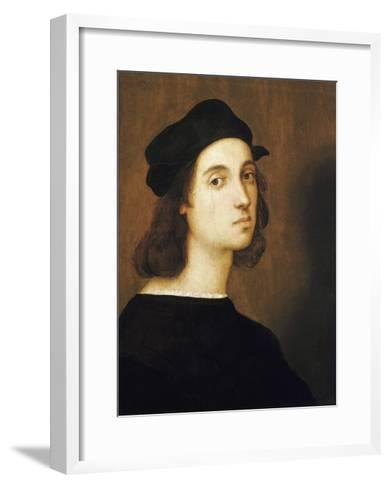 Self-Portrait by Raphael--Framed Art Print